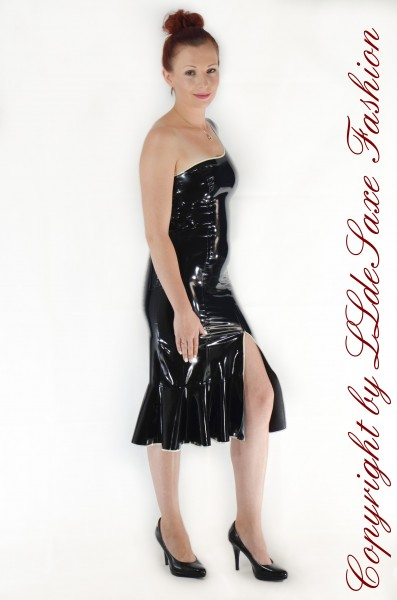 Damen Kleid one Shoulder