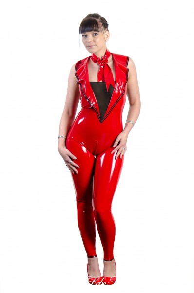 Damen Catsuit Uniformstyle