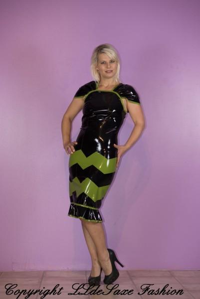 Damen Cocktailkleid mit M-Stripes
