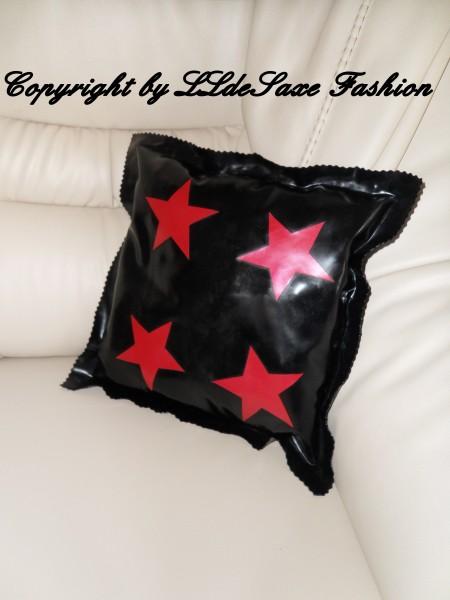 Kissen 40 x 40 cm mit 4 Sternen