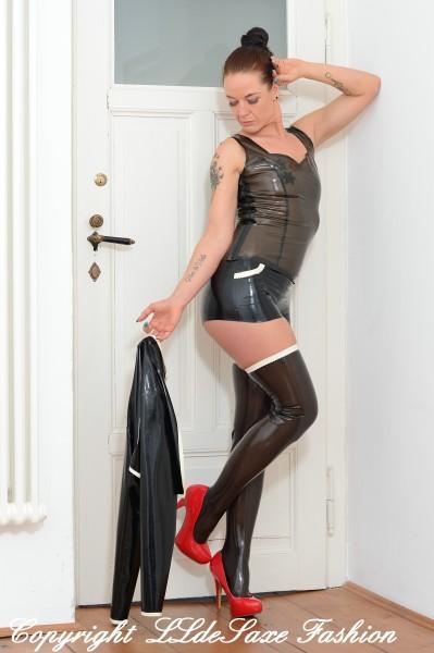 Damen Hotpant mit seitlichen Front-Taschen