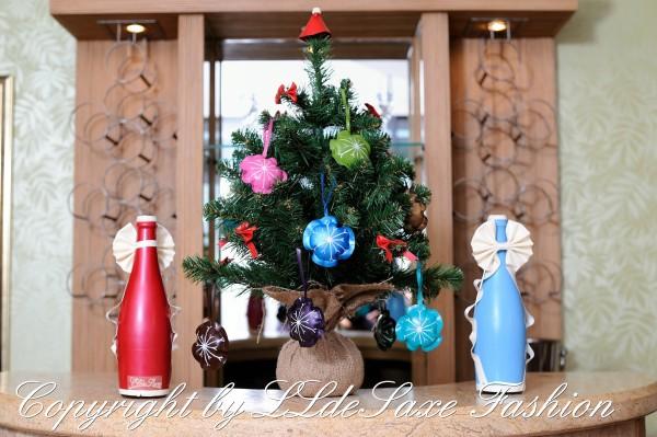 (3 Stück) Weihnacht/Advents Dekoration