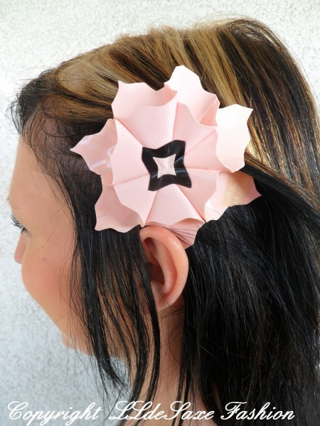 Latex Haarschmuck / Edelweißblume groß