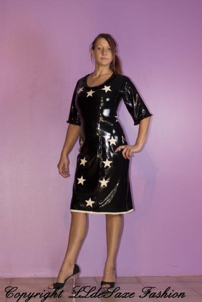 Damenkleid mit Sternen